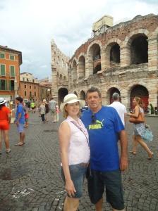 Na Arena em Verona