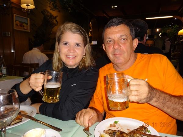 cerveza Patricia, muy buena...