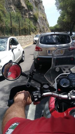 Serra da Arrábida congestionada