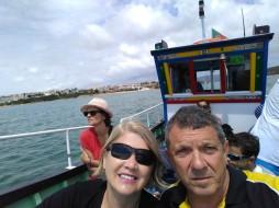passeio de barco em Vila Nova de Milfontes