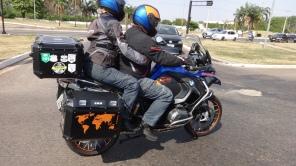 Novo visual de minha motos e de nossos capacetes
