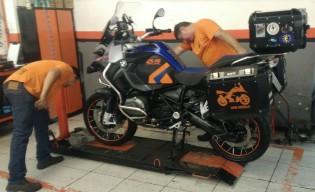 moto já está limpinha!!