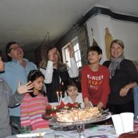 Evaldo, Adriana, Andrei, Elisa,..